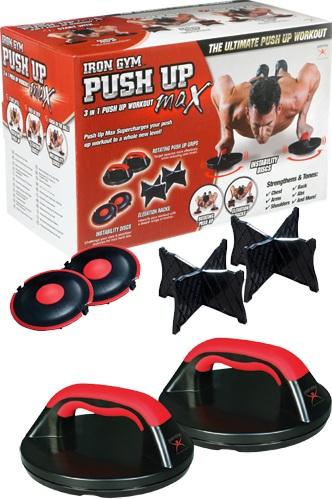 Iron Gym Push Up Max Liegestützgriff-Set
