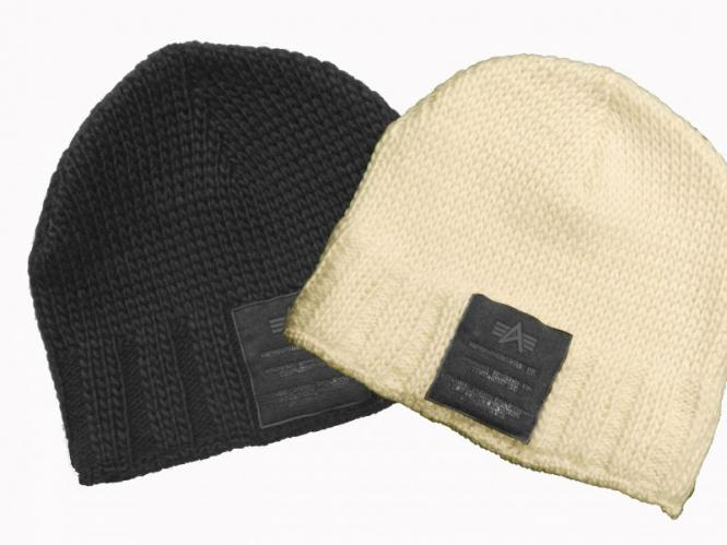 Alpha Industries Patch Beanie