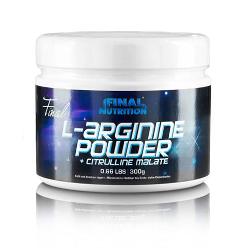 Final Nutrition L-Arginine Powder + Citrulline Malate, 300g