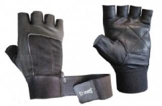 C.P. Sports Bandagen-Handschuhe Leder