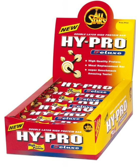 All Stars Hy-Pro DELUXE, 1 Riegel, 100g