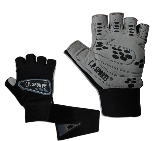 C.P. Sports Profi-Grip-Bandagen-Handschuhe