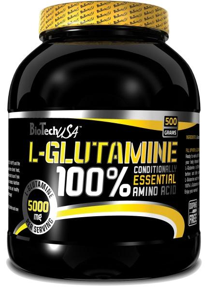 BioTech USA 100% L-Glutamine, 240g