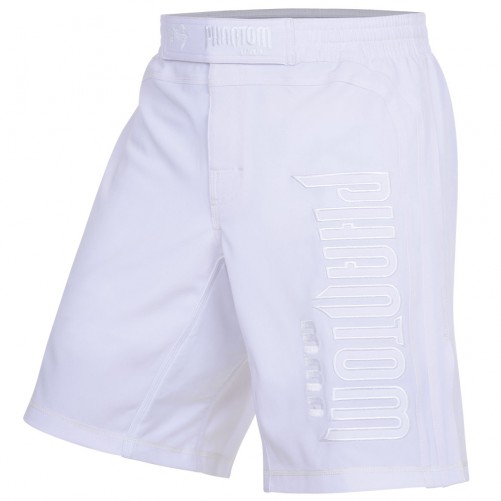 Phantom MMA SHADOW Short, White Edition