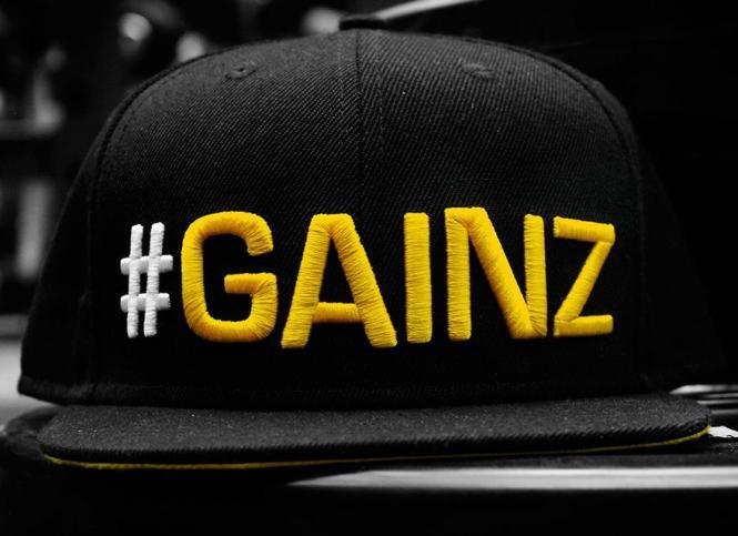 Dedicated #Gainz Cap