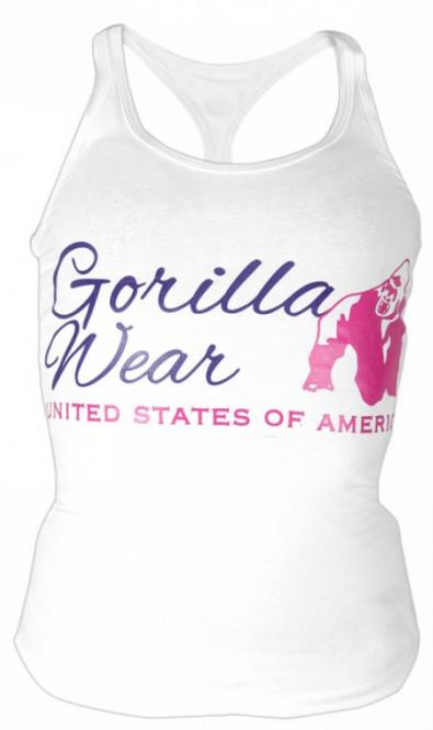 Gorilla Wear Women Classic Tank Top, White