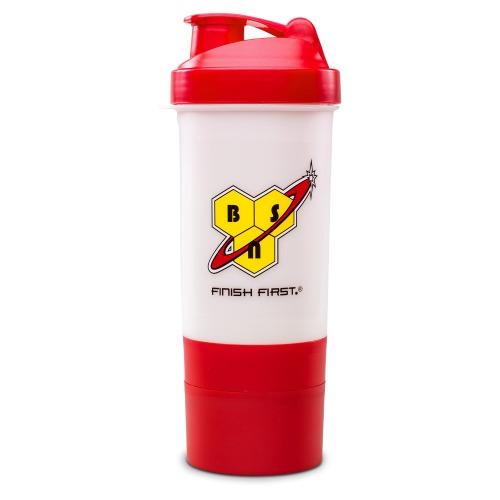 BSN Nox Shaker Rot & Weiß, 1 Stück