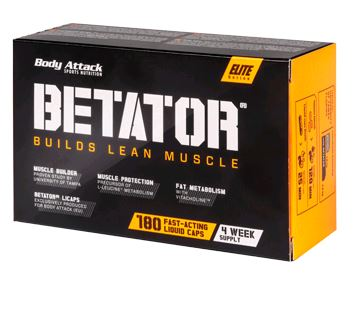 Body Attack BetaTor, 180 Kaps.