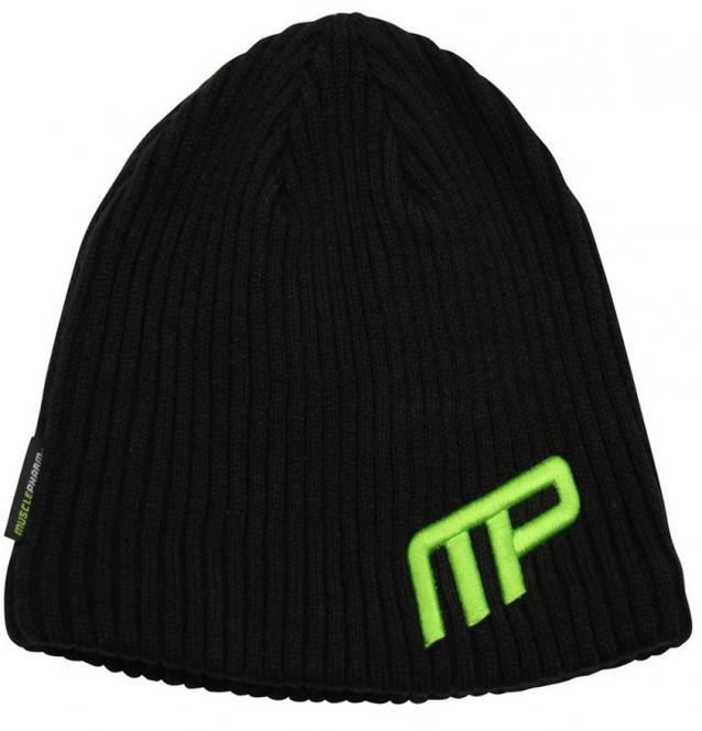 MusclePharm Beanie, Black