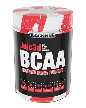 BlackLine 2.0 Juic3d BCAA, 500g