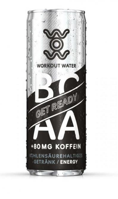 GymPro Workout Water Get Ready, 330ml