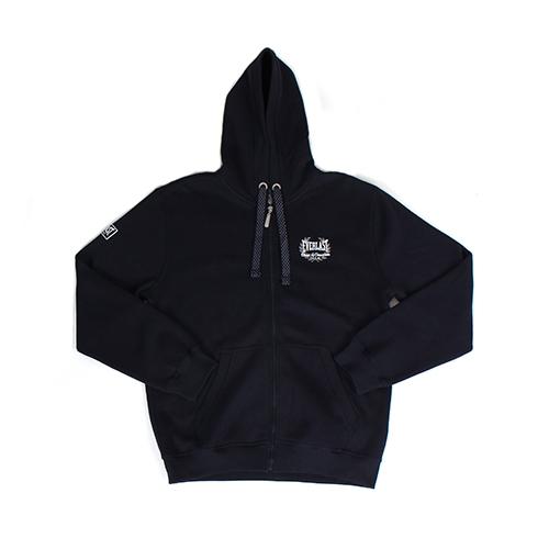 Everlast Zip Through Hooded Sweat, Navy Blau