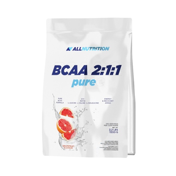 All Nutrition BCAA 2:1:1 Pure, 1000g