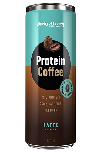 Body Attack Protein Coffee, 250ml