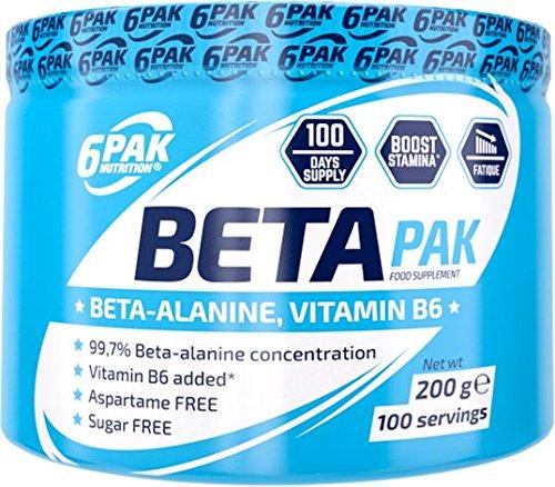 6 Pak Nutrition Beta Pak, 200g