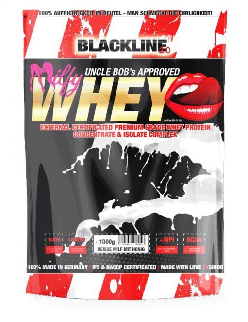 BlackLine 2.0 Milfy Whey, 1000g