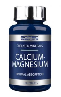 Scitec Essentials Calcium-Magnesium, 100 Tabl.