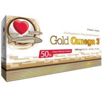 Olimp Gold Omega 3, 60 Kaps.