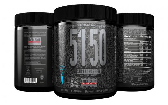 5% Nutrition 5150 Supercharged LTD, 366g