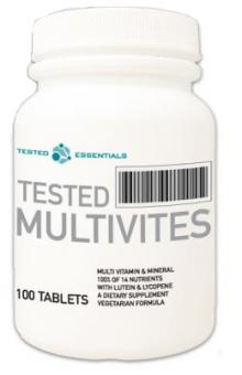 Tested Nutrition Tested Multivites, 100 Tabl.