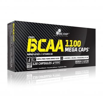 Olimp BCAA Mega Caps, 120 Kaps.