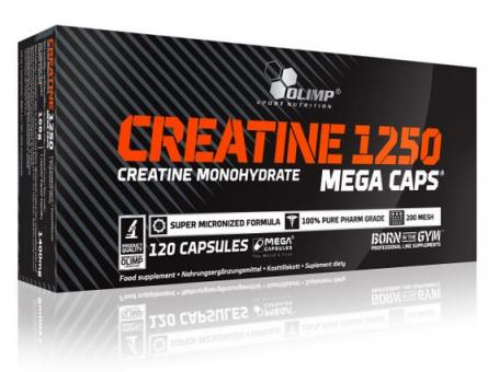 Olimp Creatine Mega Caps, 120 Kaps.