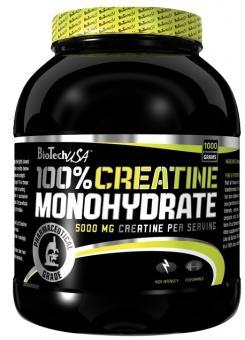 BioTech USA 100% Creatine Monohydrate, 1000g