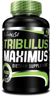BioTech USA Tribulus Maximus Extra Strong Formula, 90 Tabl.