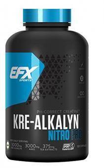 EFX Kre-Alkalyn Nitro Pro, 120 Kaps.