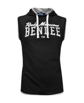 BenLee Epperson Men Sleeveless Hooded T-Shirt, Black