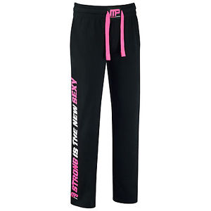 MusclePharm Womens Sweat Pant , Schwarz/Pink