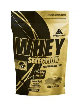 Peak Whey Selection, 1000g - Vanilla Vanilla