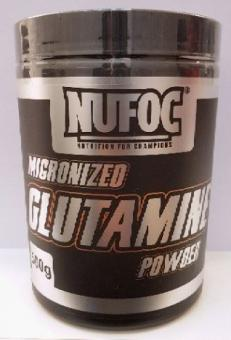 Nufoc Micronized Glutamine Powder, 500g