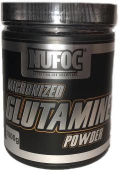 Nufoc Micronized Glutamine Powder, 1000g