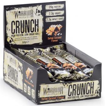 Warrior Crunch Bar, 1 Riegel, 64g White Chocolate Crisp