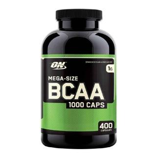 Optimum Nutrition BCAA 1000, 400 Kaps. (MHD: 03/22)