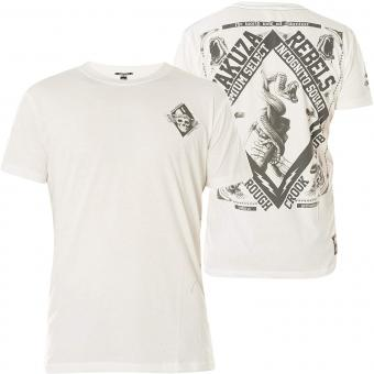 Yakuza T-Shirt, Weiß YPS - 2412