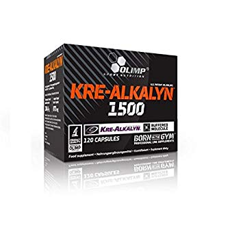 Olimp Kre-Alkalyn 1500 Mega Caps, 120 Kaps. (MHD: 25/09/19)