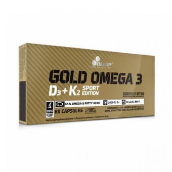 Olimp Gold Omega 3 D3 + K2, 60 Kaps.