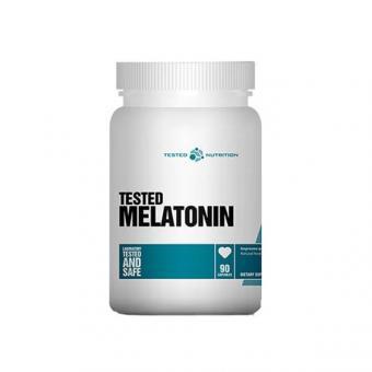 Tested Nutrition Tested Melatonin, 90 Kaps.