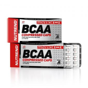 Nutrend BCAA Compressed Caps, 120 Kaps.