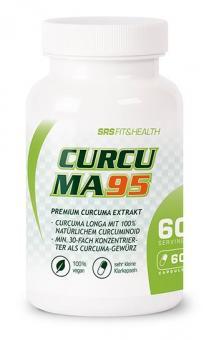 SRS Muscle Curcuma 95, 60 Kaps.