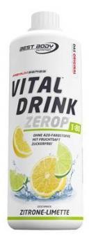 Best Body Nutrition Vital Drink, 1000ml Zitrone Limette