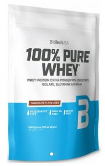 BioTech USA 100% Pure Whey, 1000g Cookies & Cream