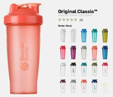 Blender Bottle Original Classic, 820ml/28oz.