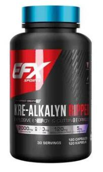 EFX Kre-Alkalyn Ripped, 120 Kaps.