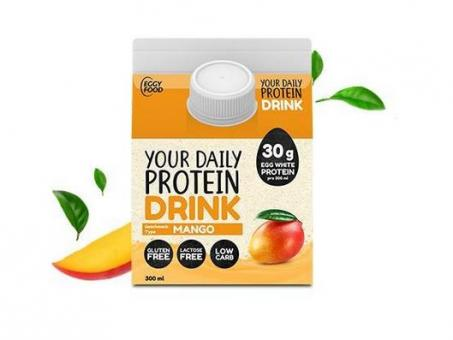 EggyFood Your Daily Protein Drink, 300ml Mango