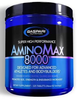 Gaspari Nutrition AminoMax 8000, 325 Tabl.