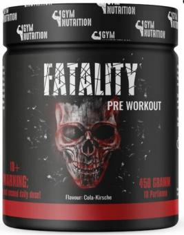 Gym Nutrition Fatality, 450g