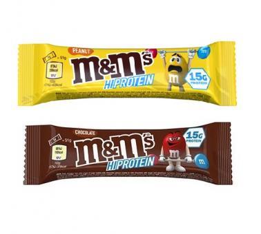 M&M´s Hi Protein, 1 Riegel, 51g Peanut